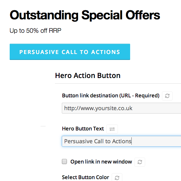 Persuasive Call to Action Content
