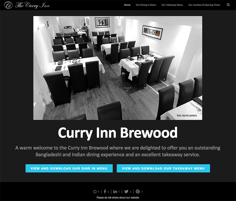 Case Study - Curry Inn Brewood